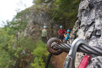 Klettersteigkindergeburtstag